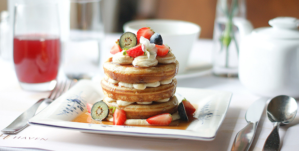 Hotel Haven pancakes